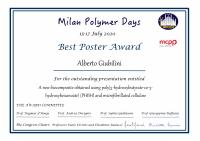 Alberto Giubilini award