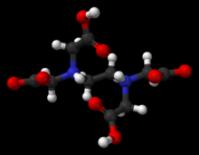 Modello di acido etilendiamminotetraacetico